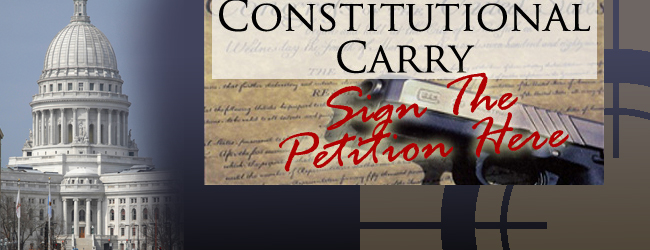 Click here to sign the online petition for Constitutional Concealed Carry