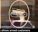 Video: Texas Bank Encourages Armed Customers