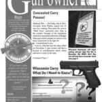 Wisconsin Gun Owners, Inc. Summer 2011 Newsletter