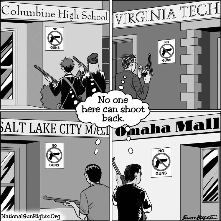 NAGR on Gun Free Zones ...