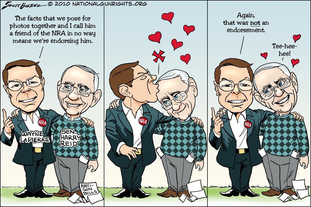 NRA and Harry Reid