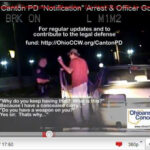 Raw Video: Cop Threatens Concealed Carry Permit Holder with Death