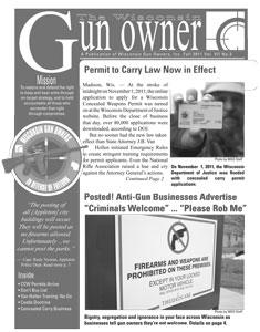 WGO Fall 2011 Newsletter