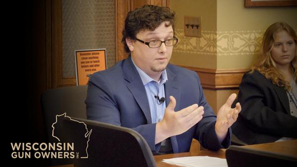 WGO Exec Director Thomas Leager testifies on behalf of SB314 (2A Sanctuary)